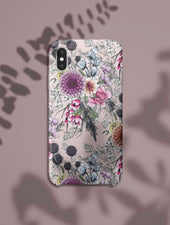 iPhone XS | Botanical Rainbow Phone Case - Felicity & Ink