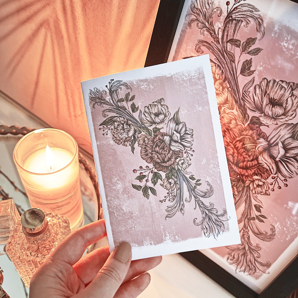 Etherial Romance | Greeting Card - Felicity & Ink