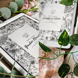 How To Draw Bundle: Garden Flowers & Woodland Edition Ebooks | Digital Download - Felicity & Ink