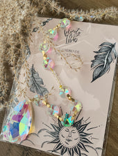 Handmade Iridescent Crystal Sun Catcher - Felicity & Ink