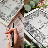 How To Draw Flowers Bundle: Garden & Autumn Flowers Ebooks | Digital Download - Felicity & Ink