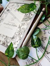 How To Draw - Woodland Edition | Digital Download - Felicity & Ink