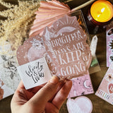 Uplifting Boho | Sticker Set - Felicity & Ink