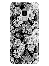Samsung Galaxy S9 | Classic Monochrome Florals Phone Case