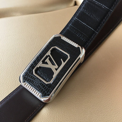 New Arrival L*V Leather Belts 05