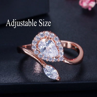 Stack Skinny Micro Pave CZ Fashion Women Engagement Wedding Bridal Party Cubic Zirconia Rings Sets Jewelry Gift R127