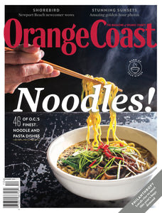 Orange Coast Magazine's December 2020 Issue