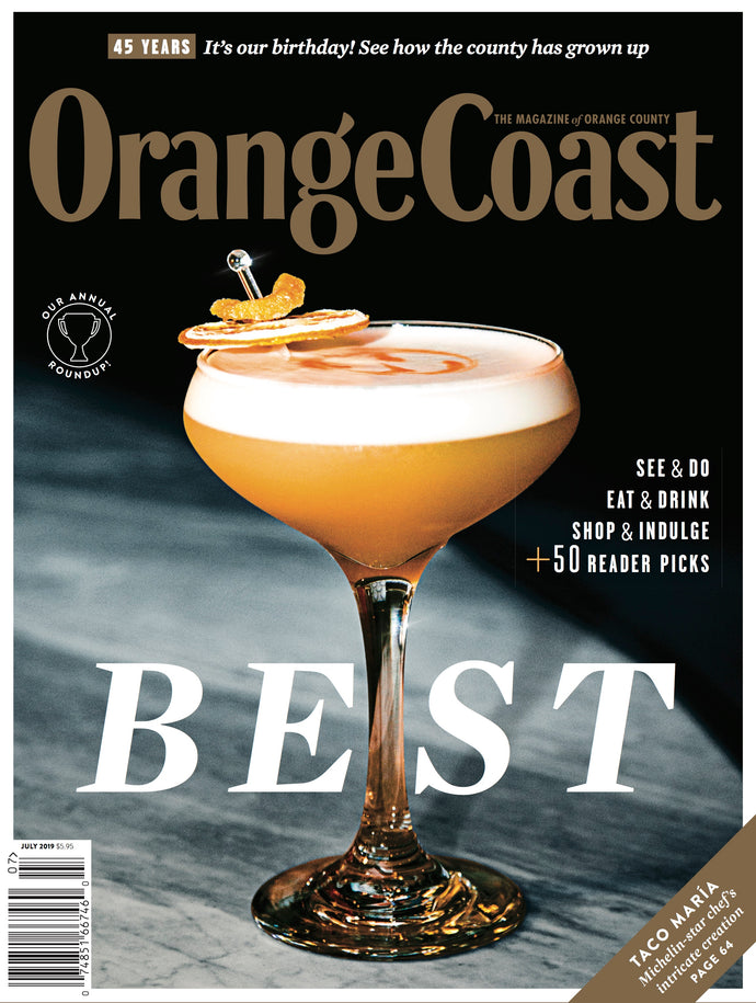 Orange Coast Magazine's July 2019 Issue