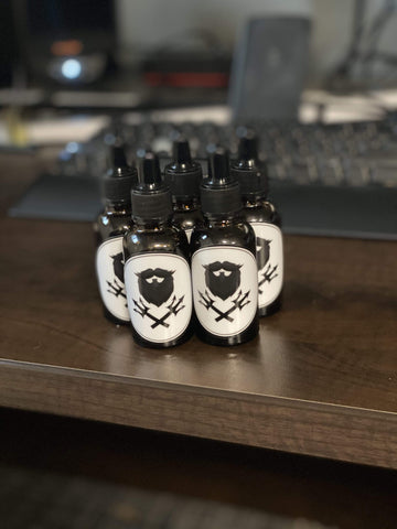 Trident Beard Co. Trident Beard Co. Beard Oil LIMITED