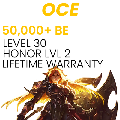 50,000 Blue Essence OCE Account