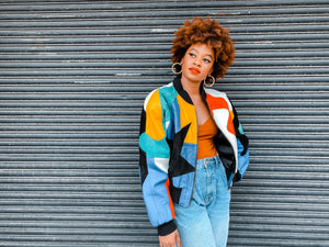 Roxanne Multi-Colored Jacket