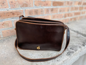 Harper Brown Satchel