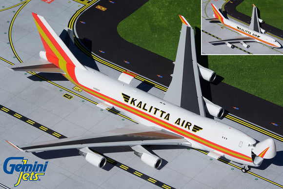 GeminiJets G2CKS928 1:200 Kalitta Boeing 747-400F (Optional Doors Open/Closed Config) N782CK