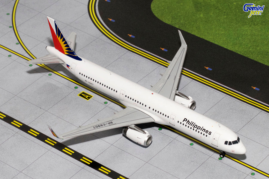 GeminiJets G2PAL484 1:200 Philippine Airlines Airbus A321 RP-C9907