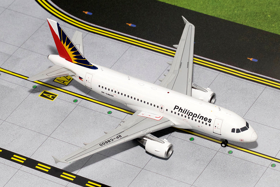GeminiJets G2PAL499 1:200 Philippine Airlines Airbus A319 RP-C8600
