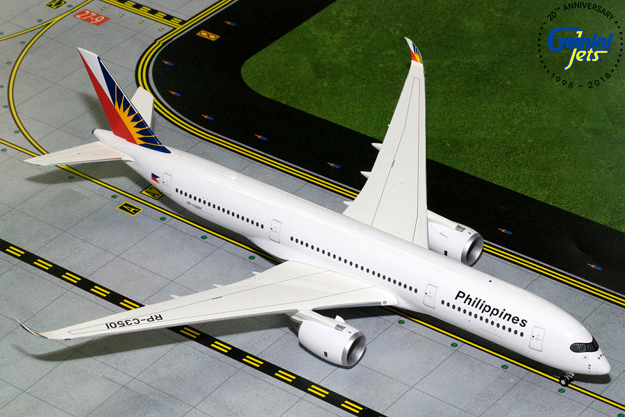 GeminiJets G2PAL789 1:200 Philippine Airlines Airbus A350-900 RP-C350