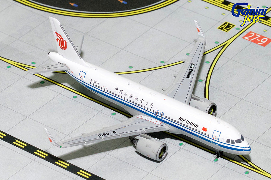 GeminiJets GJCCA1752 1:400 Air China Airbus A320neo B-8891