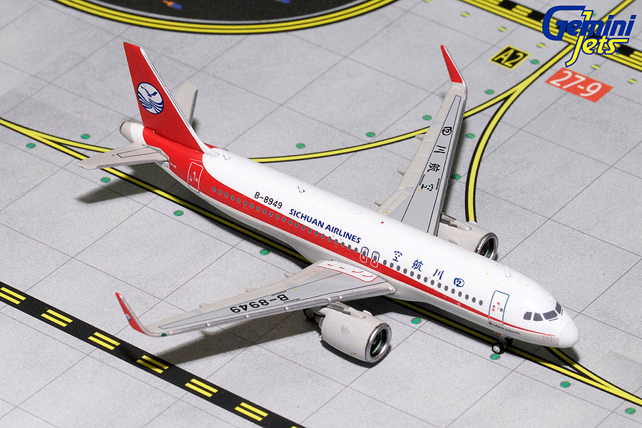 GeminiJets GJCSC1716 1:400 Sichuan Airlines Airbus A320neo B-8949