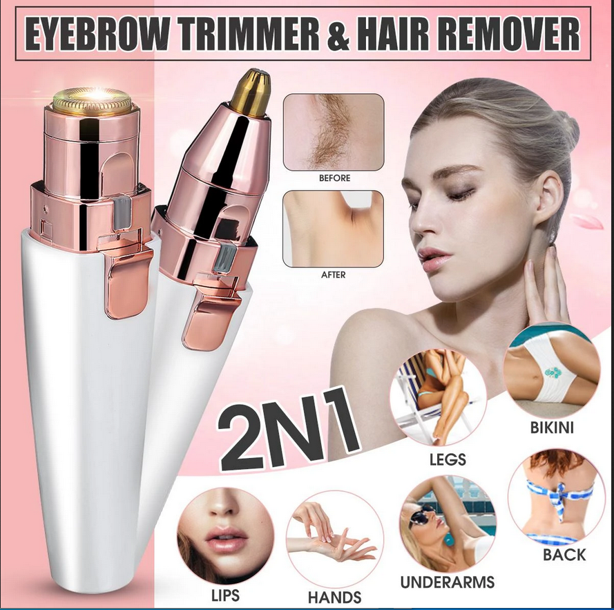 ⭐ Award Winning Eyebrow Trimmer & Hair Remover