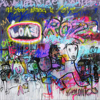 All you need is love 180 x 180 - ouishop