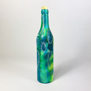 MUD painted bottle - BT124