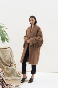 Long Fringed Coat