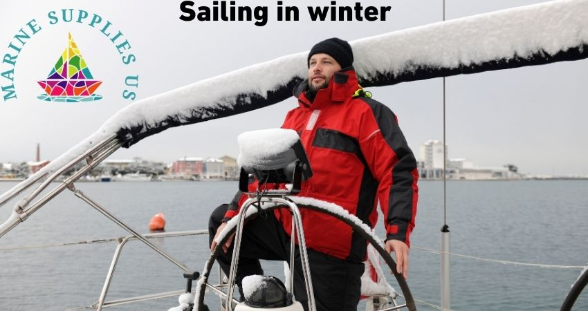 winter sailing, cold weather