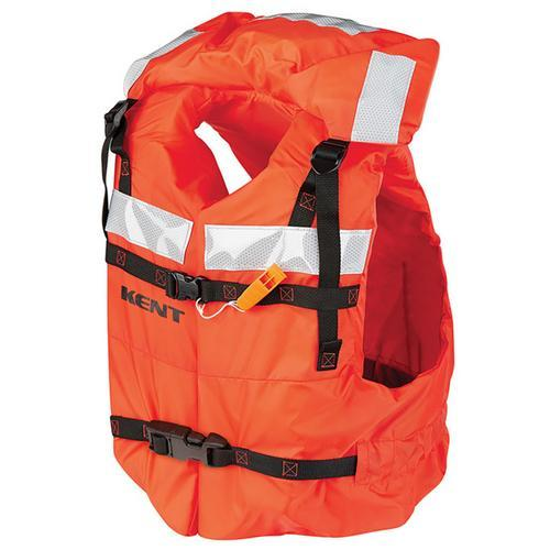 Kent Type 1 Commercial Adult Life Jacket - Vest Style - Universal - Budget Boat Things