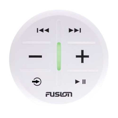 FUSION MS-ARX70W ANT Wireless Stereo Remote - White - Budget Boat Things