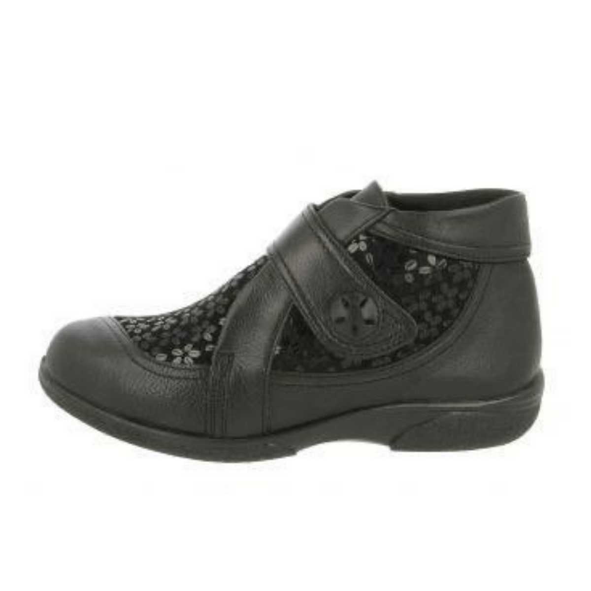 Easy B Tamworth Black Patent Floral