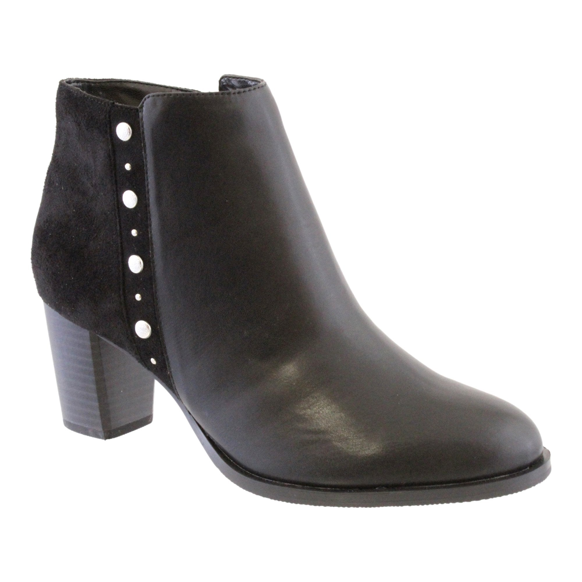 susst black ankle boot