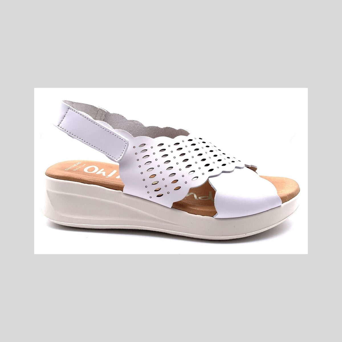 Oh My Sandals 4839 White