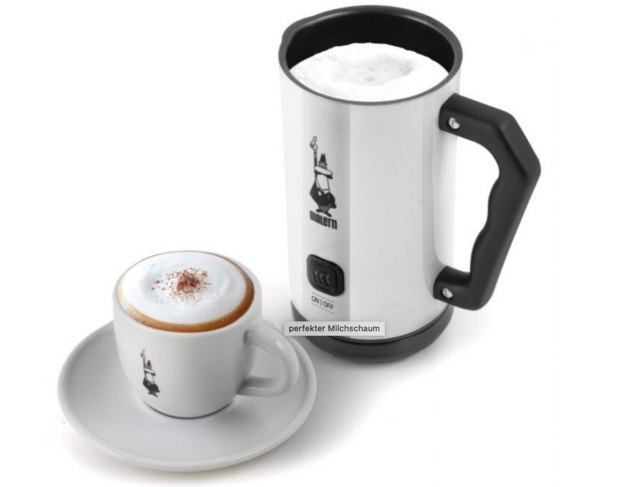 Bialetti cappuccinatore milk frother white