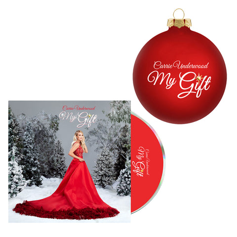 My Gift Red Ornament + CD