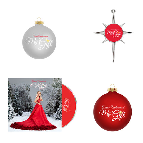 My Gift Three Ornaments + CD