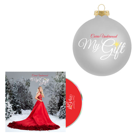 My Gift Silver Ornament + CD