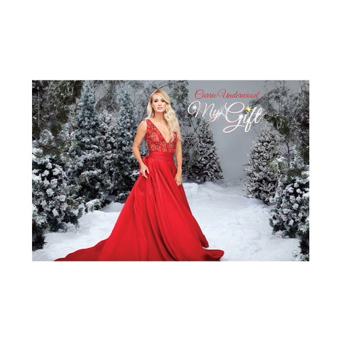 My Gift Red Dress Poster