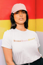 Load image into Gallery viewer, Brown Bonita Blessed t-shirt