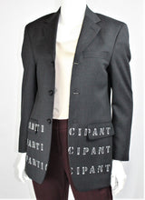"Load image into Gallery viewer, ""Participant"" Blazer"