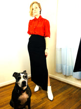 Load image into Gallery viewer, Wool Pencil Skirt