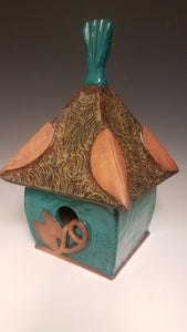 East meets West Birdhouse