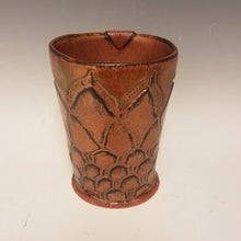 Load image into Gallery viewer, Antiqued Copper Textured Mug