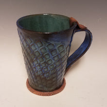 Load image into Gallery viewer, Blue-Green Textured Mug
