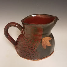 Load image into Gallery viewer, Pitcher with Jasper Red and Starry night gray.
