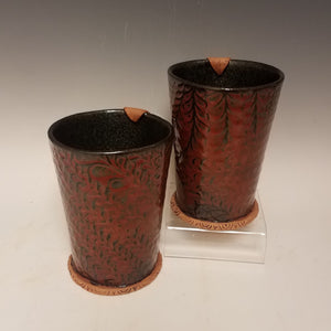 Jasper Red Mugs - 2 in stock!
