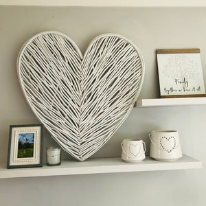 Extra Large Wicker Heart