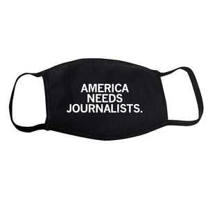 America Needs Journalists Face Mask