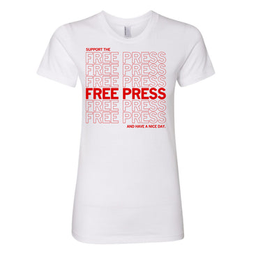 Support The Free Press Shirt - Snug