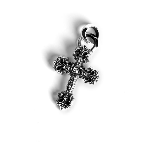 XS FILIGREE CROSS PENDANT WITH BAIL
