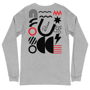 L.U.X Abstract Long Sleeve